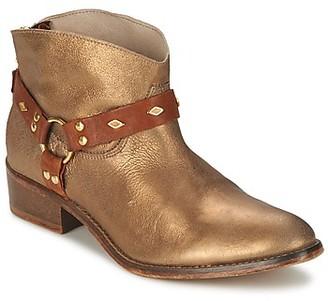 Koah ANYA women's Mid Boots in Gold