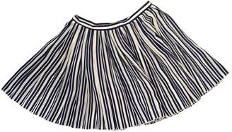 Vanessa Bruno Navy Silk Skirts