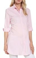 Isabella Oliver Women's Dora Stripe Maternity Shirt