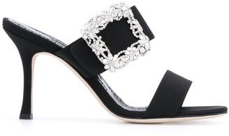 Manolo Blahnik Gable slip-on sandals