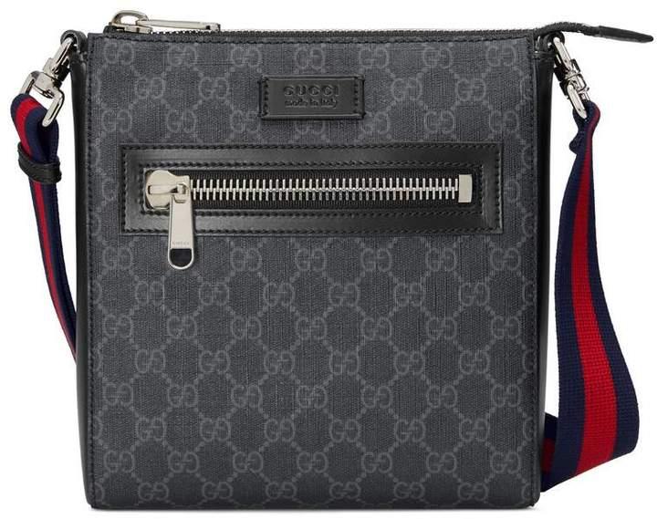 ed0b08f702 GG Black small messenger bag
