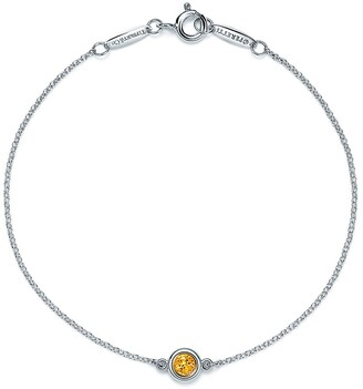 Tiffany & Co. Elsa Peretti Color by the Yard bracelet in sterling silver with a citrine, medi