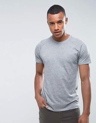 Threadbare Marl T-Shirt-Grey