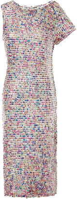 retrofete Tabitha Sequined Cotton Dress