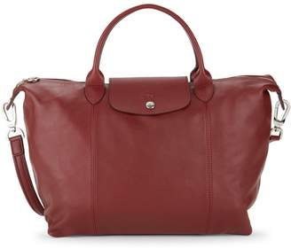 Longchamp Packable Leather Tote