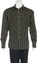 Robert Graham Striped Woven Shirt w/ Tags