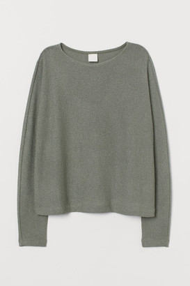 H&M Dolman-sleeved Top - Green