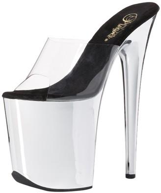 Pleaser USA Women's Flam801/C/Sch Platform Dress Sandal