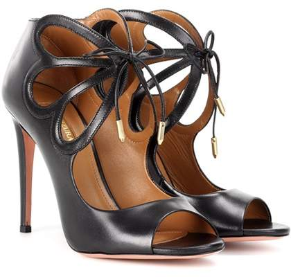 Aquazzura Syrah leather sandals