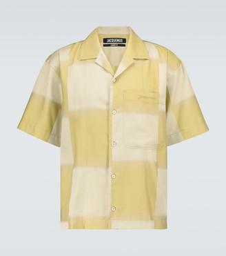Jacquemus La Chemise Jean bowling shirt