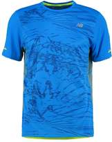 New Balance Sports Shirt Electric Blue