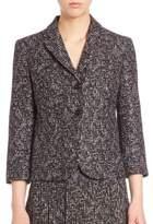 Michael Kors Printed Wool Jacket