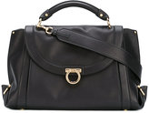 Salvatore Ferragamo Gancio shoulder bag - women - Calf Leather - One Size