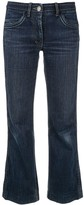 Celine Pre Owned cropped straight-fit jeans
