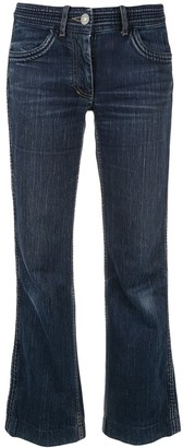 Celine Pre-Owned cropped straight-fit jeans