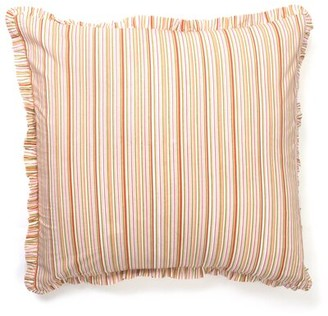 Amity Home Magnolia Stripe Sham Color: Light Pink