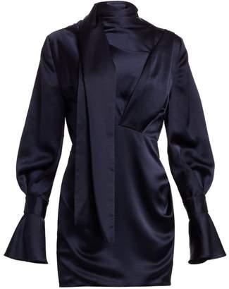 Acler Soto Draped Mini Dress