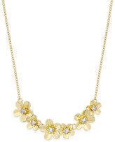 Vera Bradley Gold-Tone Petals Necklace