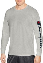 Champion Mens Classic Jersey Long Sleeve Graphic Tee, XL