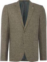 Peter Werth Men's Aston Textured Wool Mix Blazer