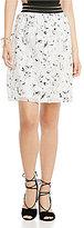 Gianni Bini Penny Floral Mini Skirt