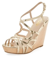 Seychelles Dilligent Strappy Leather Wedge