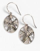 Lord & Taylor Oval Drop Earrings