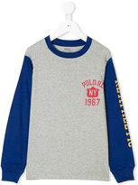 Ralph Lauren raglan shirt