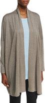 eskandar Relaxed Open-Front Cardigan