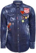 DSQUARED2 Scout Patch Western Shirt