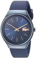 Lacoste Women's 'Valencia' Quartz Resin and Silicone Automatic Watch, Color:Blue (Model: 2000951)