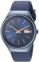 Lacoste Women's 'Valencia' Quartz Resin and Silicone Watch, Color:Blue (Model: 2000951)
