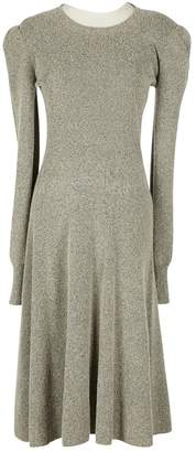 Louis Vuitton Grey Cashmere Dresses