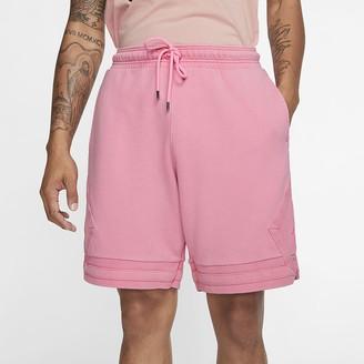 Nike Men's Fleece Shorts Jordan Wings Washed