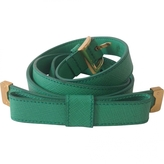 Prada Green Leather Belt