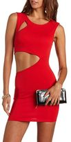 Charlotte Russe Cut-Out Knit Body-Con Dress