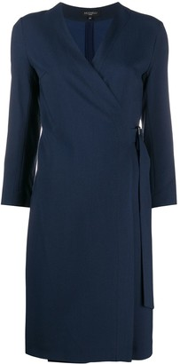 Antonelli Wrap Front Dress
