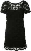 D-Exterior D.Exterior - floral embroidered shift dress - women - Cotton/Spandex/Elastane/Viscose/Polyimide - L