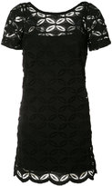 D-Exterior D.Exterior - floral embroidered shift dress - women - Cotton/Spandex/Elastane/Viscose/Polyimide - S