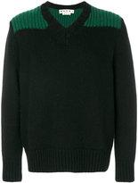 Marni V-neck jumper - men - Wool/Alpaca - 46