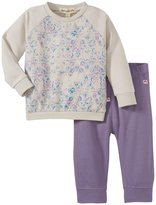 Appaman Sweatshirt Leggings Set (Baby) - Rococco/Daybreak-18-24 Months