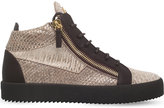 Giuseppe Zanotti Ofelia Leather Mid-top Trainers