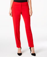 Calvin Klein Petite Highline Straight-Leg Pants