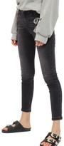 Topshop Petite Women's Jamie High Waist Ankle Skinny Jeans