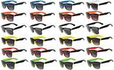 OWL 24 Pieces Per Case Wholesale Lot Glasses. Assorted Colored Frame Fashion Sunglasses.Bulk Sunglasses - Wholesale Bulk Party Glasses, Party Supplies.