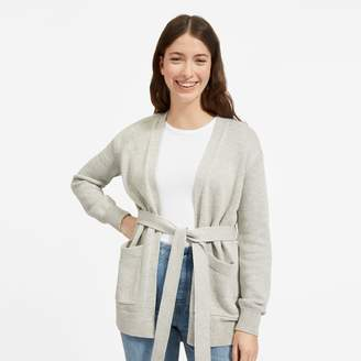 Everlane The Soft Cotton Wrap Cardigan