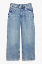 Thumbnail for your product : Monki Mozik mid blue jeans