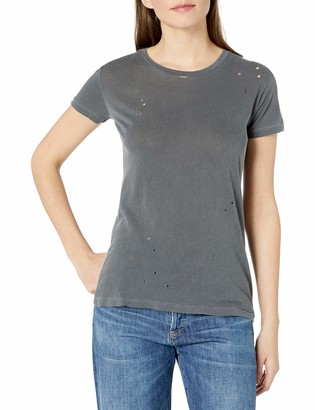 Stateside Women's Royal Supima S/S with Holes