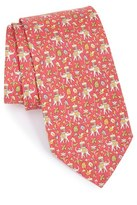 Salvatore Ferragamo Men's Floral Silk Tie