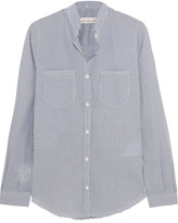 Golden Goose Deluxe Brand Susan checked cotton shirt